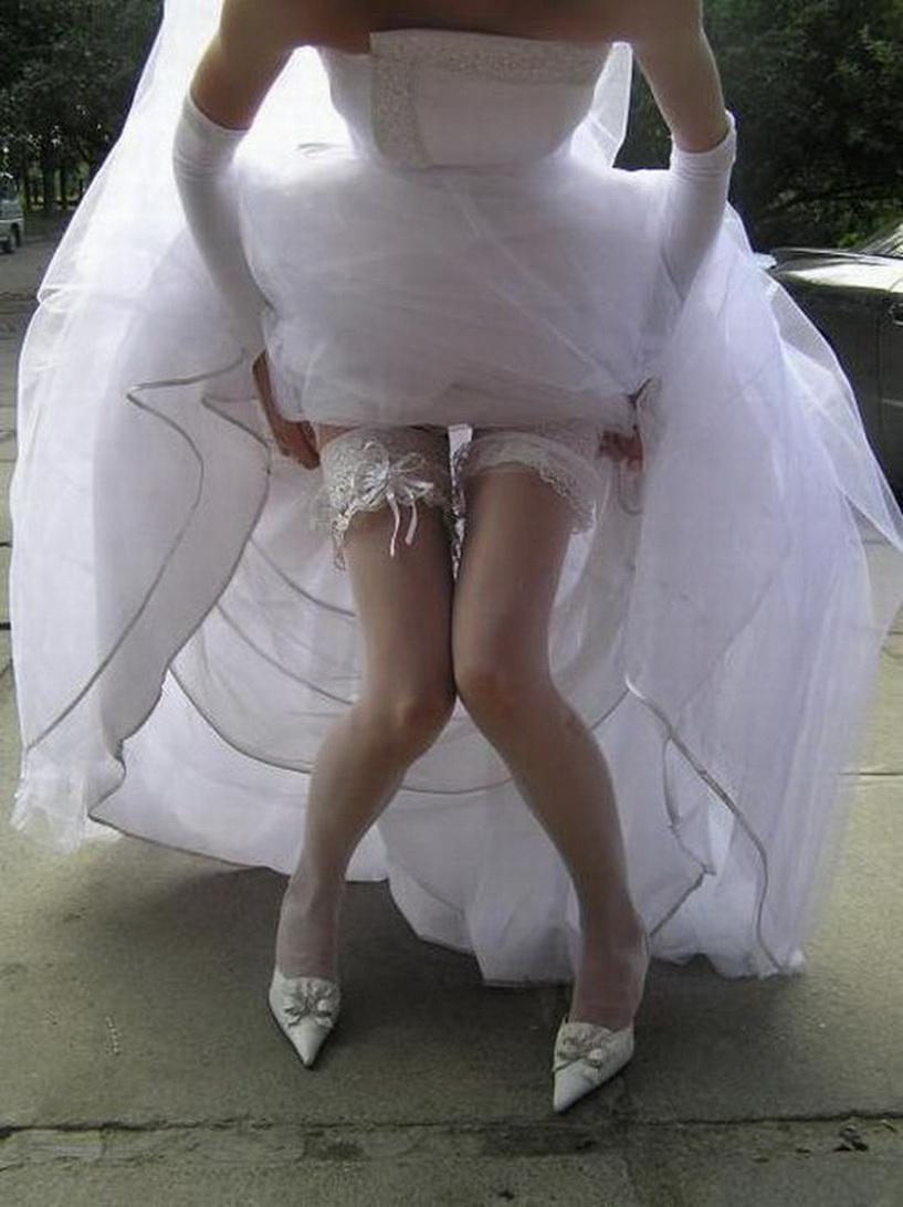Эротическое фото невест в белье 18 фотография